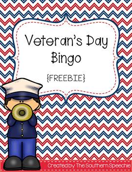 Veteran's Day Bingo {Freebie}