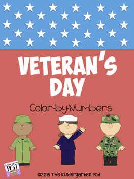 Veteran's Day Color-by-Numbers