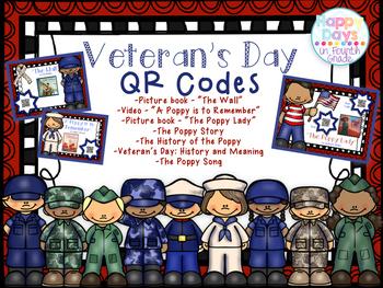 Veteran's Day QR Codes