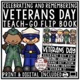 Veterans Day Activities Flip Book