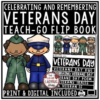 Veterans Day Activities Flip Book