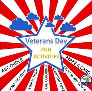 Veterans Day Activities - Print and Go