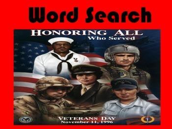 Veterans Day Activites