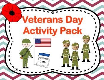 Veterans Day Activity Pack