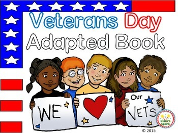 Veterans Day Adapted Book