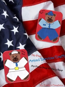Armed Forces Bear Craft: Navy & Air Force