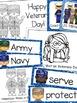 Veterans Day Math & Language Arts Bundle of Activities