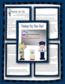 Veterans Day Close Read