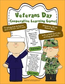Veterans Day Task Cards!