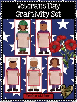 Veterans Day Craftivity Set