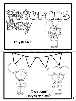 Veterans' Day Easy Reader