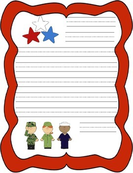 Veterans Day Letter Handwriting