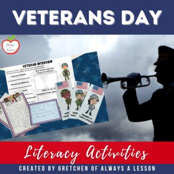 Veteran's Day Literacy Pack
