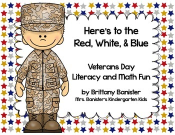 Veteran's Day Math and Literacy Activities for Little Learners