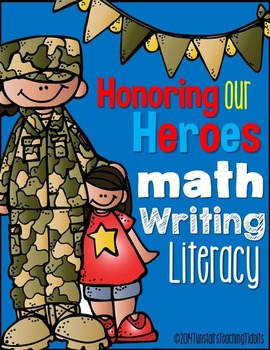 Veterans Day Math and Literacy