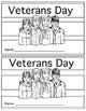 Veterans Day Mini Book & Letter Paper