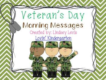Veteran's Day - Morning Messages