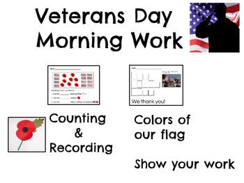 Veterans Day Morning Work
