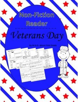 Veterans Day Nonfiction CLOSE Reading Book
