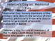 Veterans Day PPT with writing activites