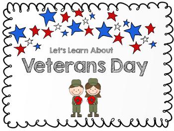 Veterans Day Packet!