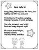 Veteran's Day Poem Freebie