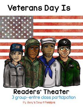 Veterans Day Readers' Theater Whole Class Play