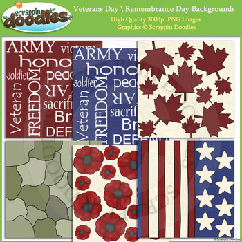 Veterans Day / Remembrance Backgrounds