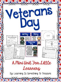 Veterans Day Mini Unit