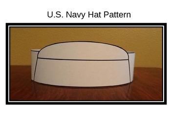 Veterans Day/Memorial Day Navy Hat Pattern