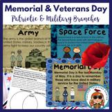 Veterans & Memorial Day Pack ~ Teaching Posters ~ Activiti