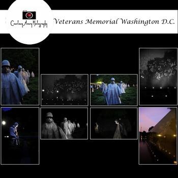 Veterans Memorial Washington D.C. Stock Photos