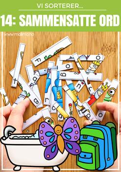 Vi sorterer 14: Sammensatte ord [BM&NN]
