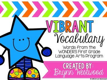 Vibrant Vocabulary ALL YEAR BUNDLE Activities with words f