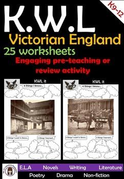 Victorian England 25 KWL charts