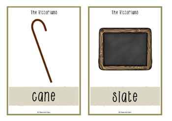The Victorians Picture Cards
