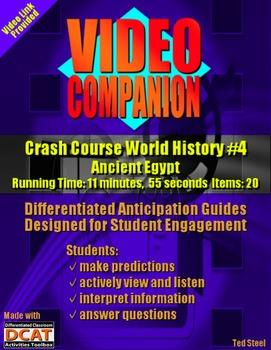 Video Companion: Crash Course World History #4, Ancient Egypt