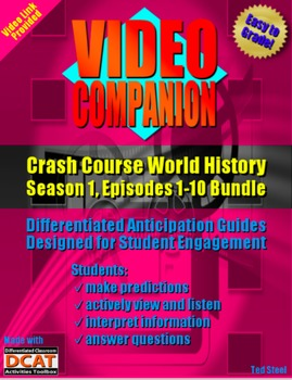 Video Companion: Crash Course World History, Season 1, Epi