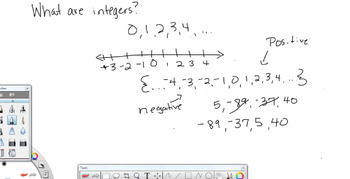 Video -- Integers 7th Grade Math Common Core
