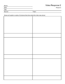 Video Response Worksheet 2
