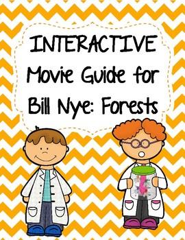 Video Worksheet  (Movie Guide) for Bill Nye - Forests QR c