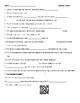 Video Worksheet (Movie Guide) for Bill Nye - Fossils QR code link