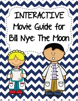 Video Worksheet (Movie Guide) for Bill Nye - The Moon QR c
