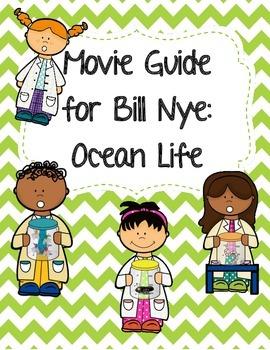 Video Worksheet (Movie Guide) for Bill Nye - Ocean Life
