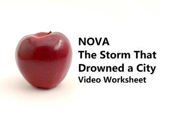 "Video Worksheet for PBS documentary ""NOVA Katrina: Storm t"