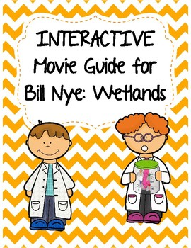 Video Worksheet for (Movie Guide) Bill Nye - Wetlands QR c