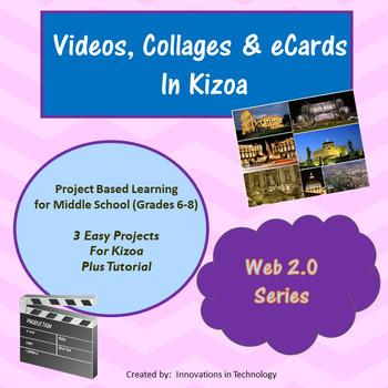 Videos, Photo Collages & eCards using Kizoa