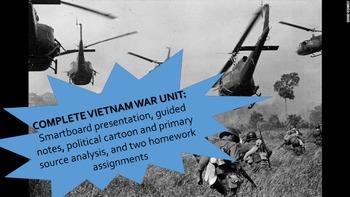 Vietnam War Complete Unit