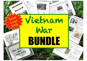 Vietnam War History BUNDLE