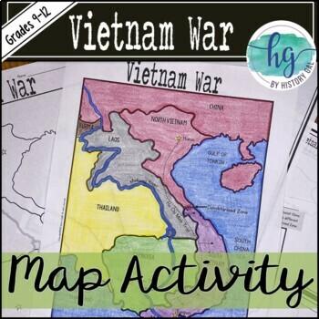 Vietnam War Map Activity